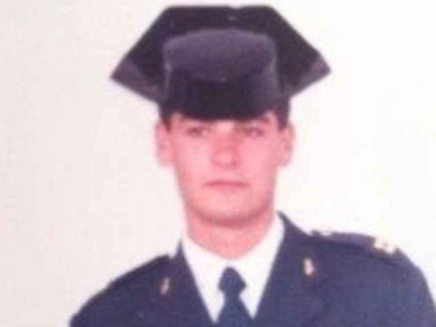 El sargento Miguel Campos, detenido por el accidente en Torremolinos, en una imagen antigua.