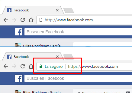 facebook https cifrado ssl