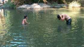 Río Genal a su paso por Algatocín.