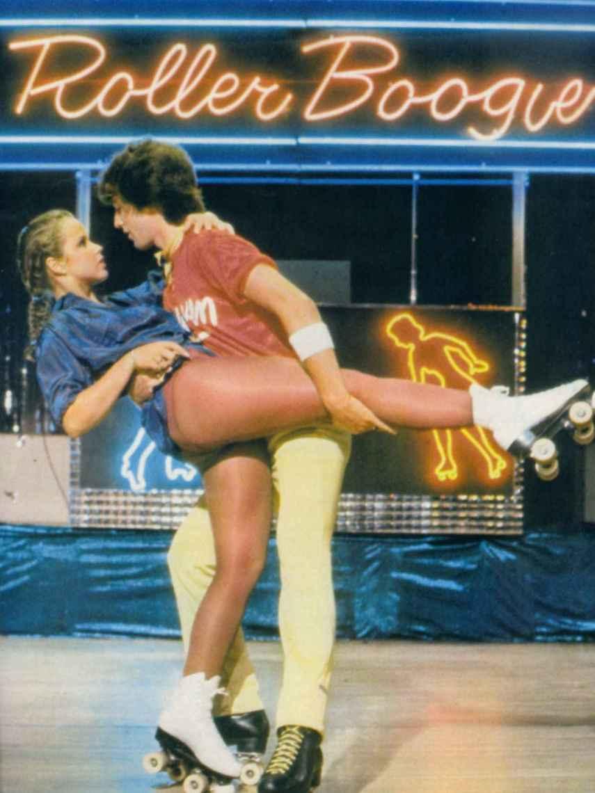 Escena de la película Roller Boogie, (1979).