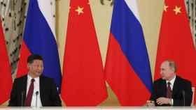 Xi ha visitado Moscú.
