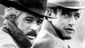 Paul Newman y Robert Redford en la película Dos hombres y un destino (1969). |Foto: GTRES.