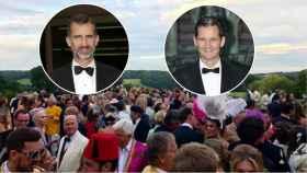 El rey Felipe VI e Iñaki Urdangarín coincidieron en Adlestrop (Reino Unido).