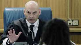 Javier Gómez Bermúdez, durante el juicio del 11M