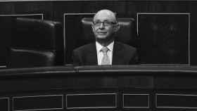El ministro Cristóbal Montoro en el Congreso de los Diputados.