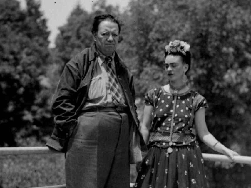 Diego Rivera y Frida Kahlo.