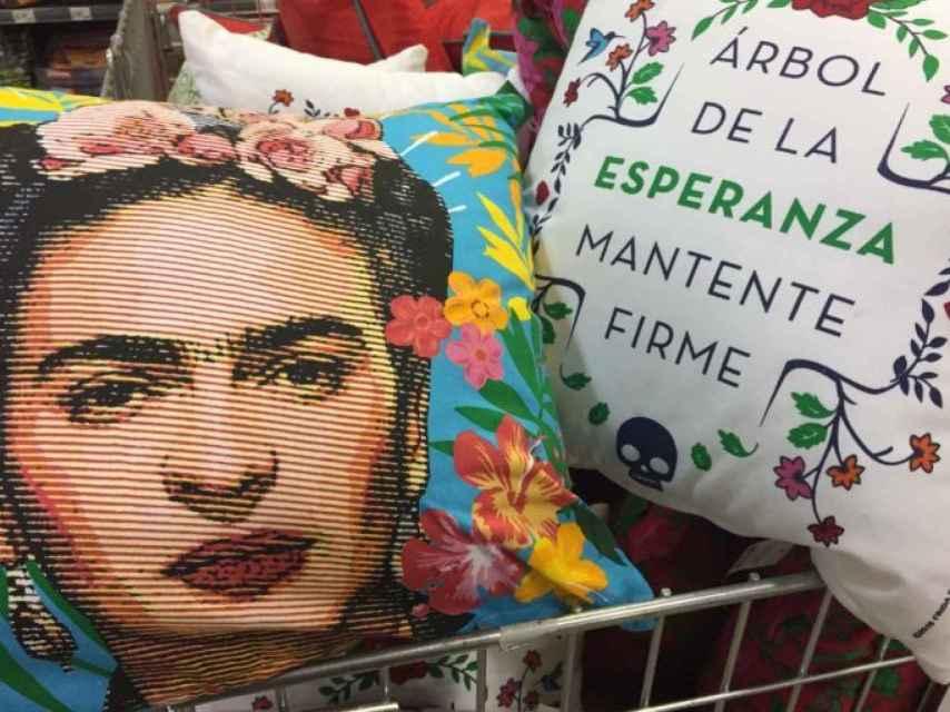 Merchandising de Frida Kahlo.