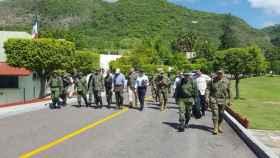 El ejército mexicano es uno de los participantes en la guerra contra el narcotráfico.