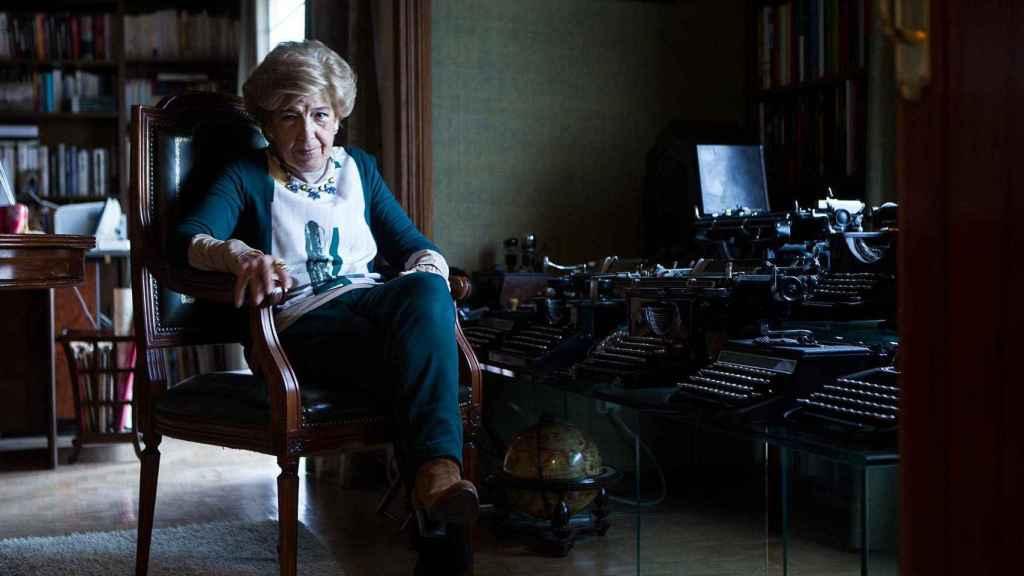 Pilar Urbano se había retirado a una casa para escribir un libro. Aquel día no escribió ni una palabra.