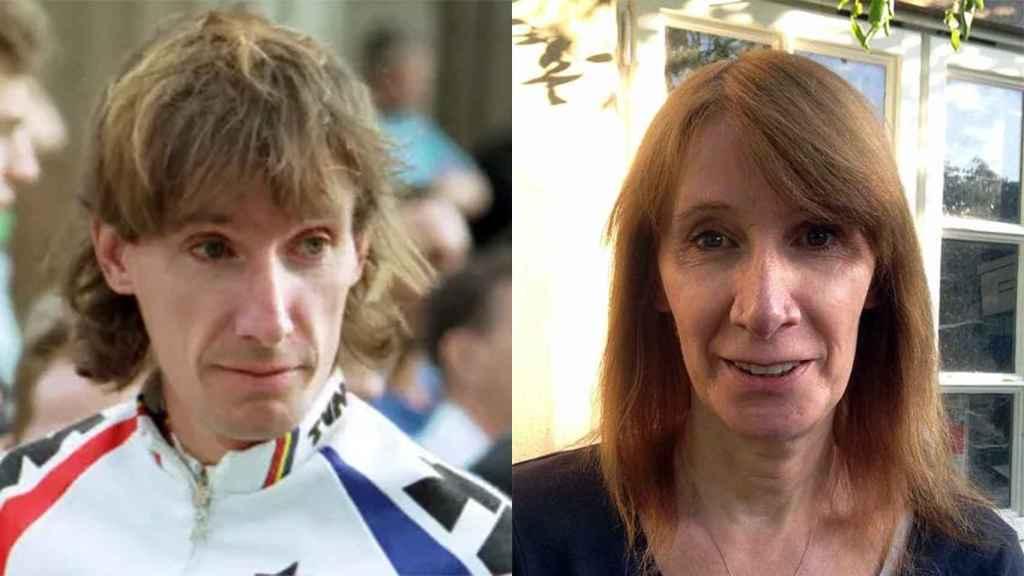 robert Millar y Philippa York, dos imágenes de la misma persona.