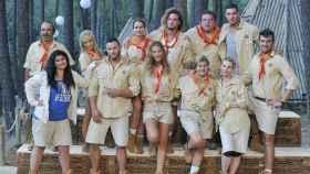 Los concursantes de 'Campamento de verano'.