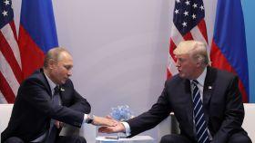 Putin y Trump se reúnen en los márgenes del G20 en Hamburgo.
