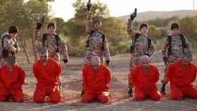 Captura de uno de los vídeos que produce y difunde el ISIS.
