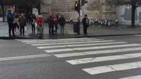 policia valladolid vigilancia pasos peatones 1