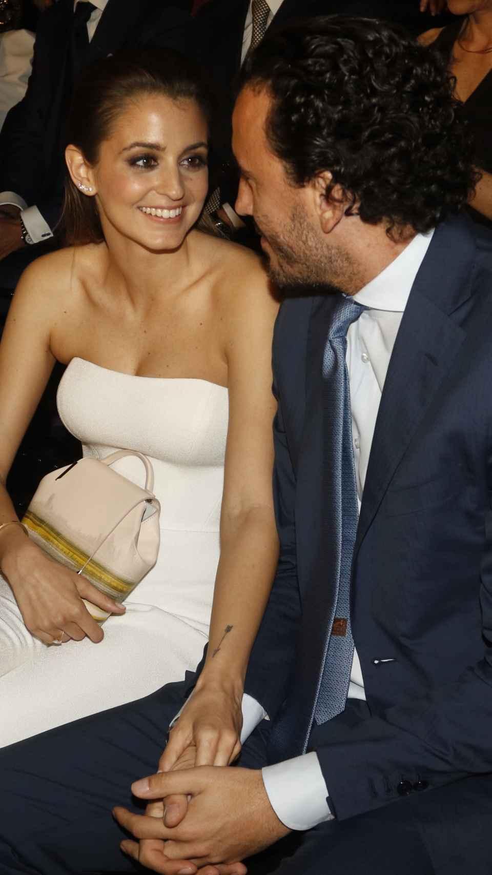 Gabriela Palatchi y su marido, Ediz Elhadef