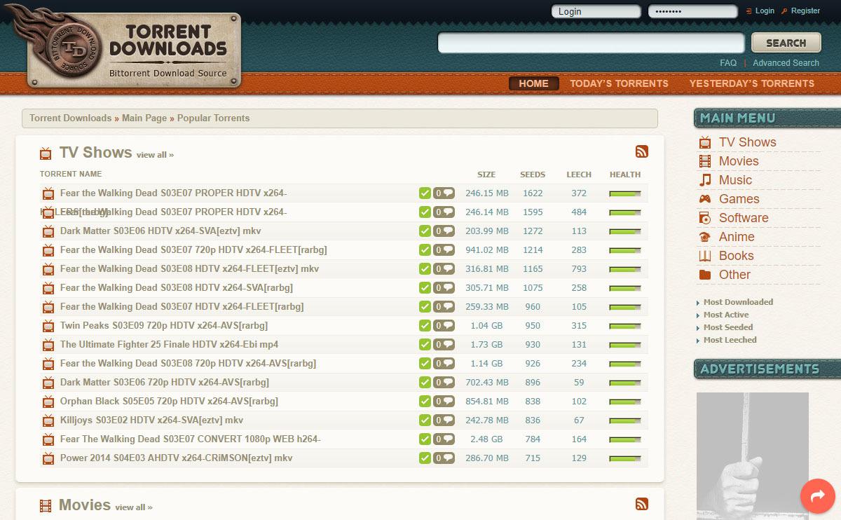 torrent downloads descargar torrent