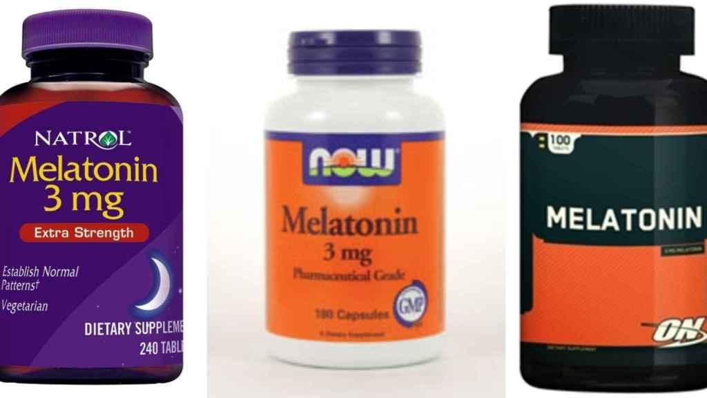 Envases de melatonina