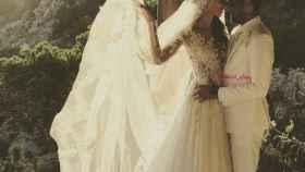 Dani Alves y Joana Sanz ya son marido y mujer.