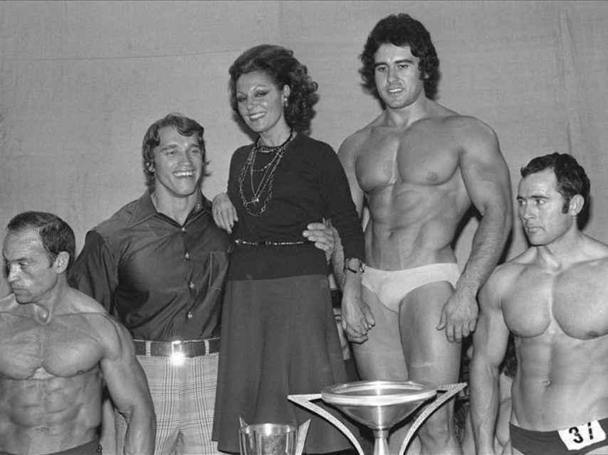 El día que Paquita Rico conoció a Arnold Schwarzennegger