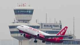 Un avión de Air Berlin en una imagen de archivo.