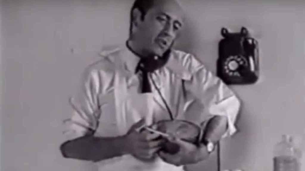 El anuncio de José Luis López Vazquez con las acciones de Telefónica, un mito de la publicidad en los 60