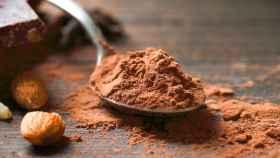 Cacao en polvo.