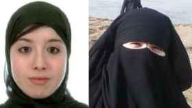 Assia Ahmed, una de las dos mujeres detenidas y enviada a prisión.