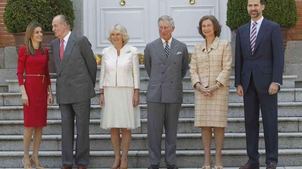 Visita de Carlos de Inglaterra y Camila Parker-Bowles a España, 2011.
