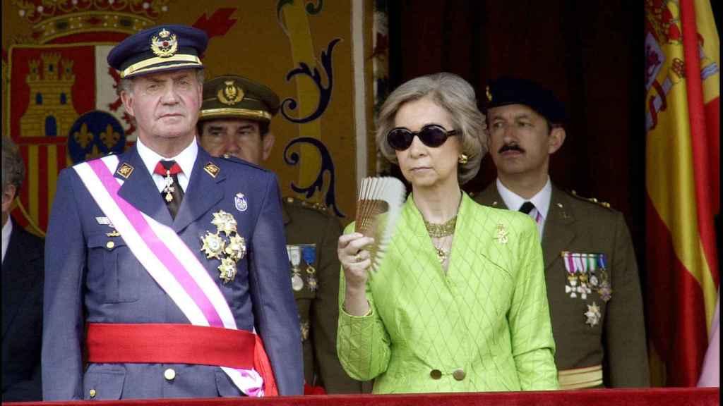 Los reyes eméritos Juan Carlos I y Sofía después de que su relación como pareja ya no funcionara.