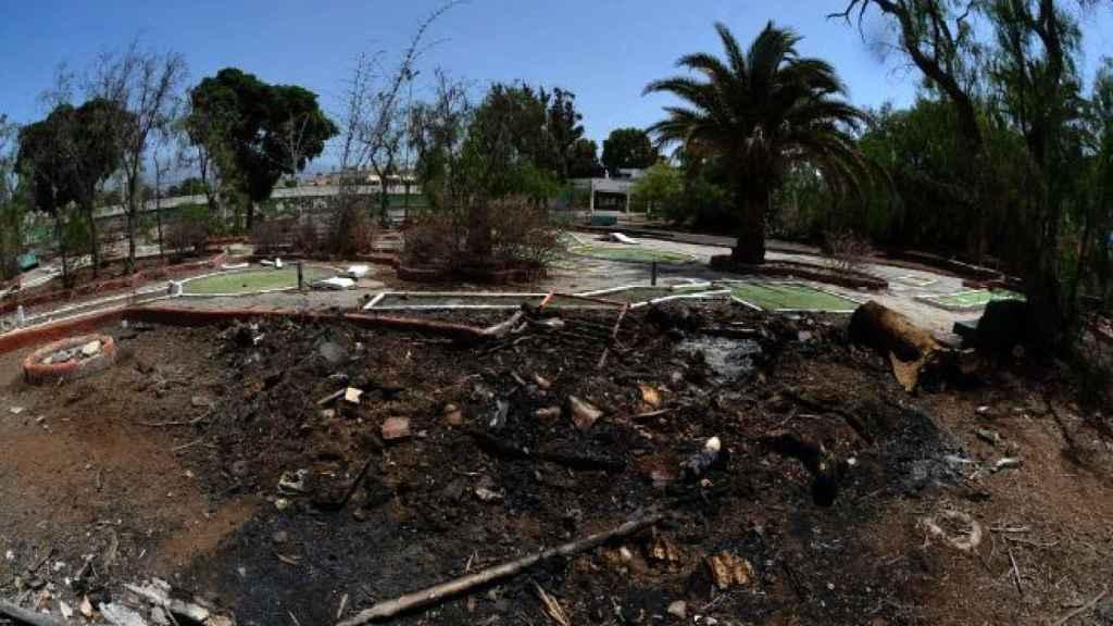 Los incendios son habituales en un lugar donde no hay agua ni siquiera para los vecinos