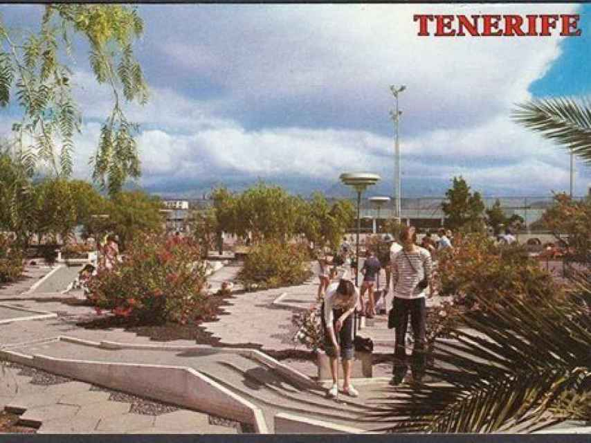 Ten-Bel era una de las estampas más típicas de las postales y souvenirs de Tenerife