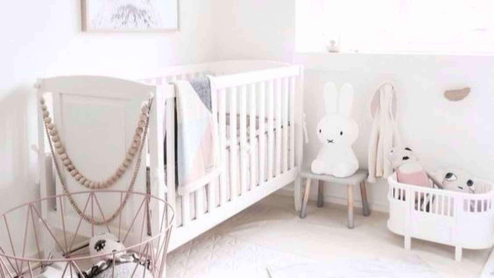 Habitación Infantil: TODO AL BLANCO 0-3 AÑOS