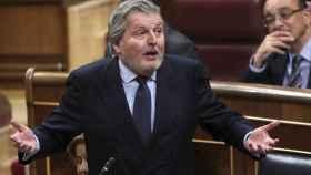 El ministro Íñigo Méndez de Vigo en el Congreso de los Diputados.