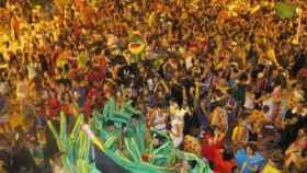 Cabanillas en fiestas. Foto: Cadena Ser