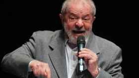 Lula, en un acto este lunes.