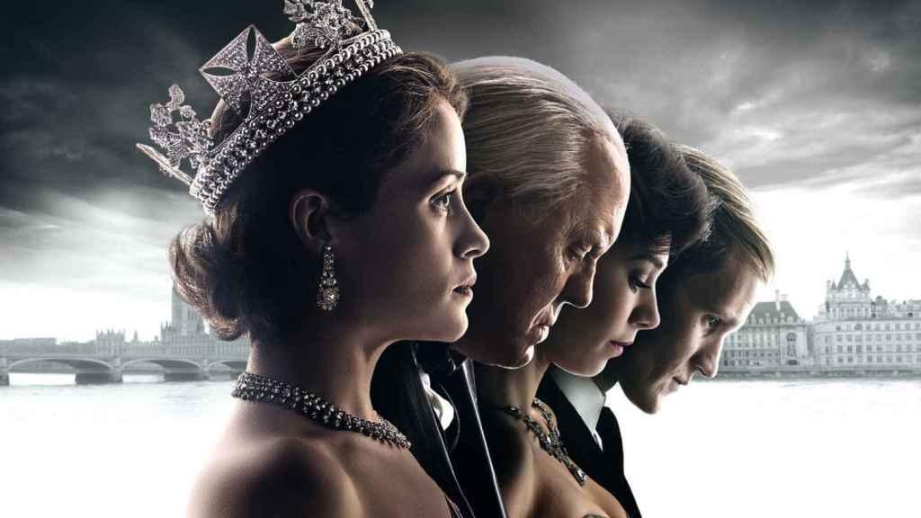 Los protagonistas de otra de las favoritas, The Crown.