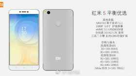 El Xiaomi Redmi 5 aparece en imágenes oficiales con todos sus datos