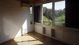 Una de las estancias del piso donde Barberá vivió de alquiler