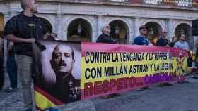 Manifestación en la Puerta del Sol de Madrid contra Manuela Carmena