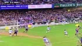 Ocurrió en un Queens Park Rangers-Manchester City de 1993...