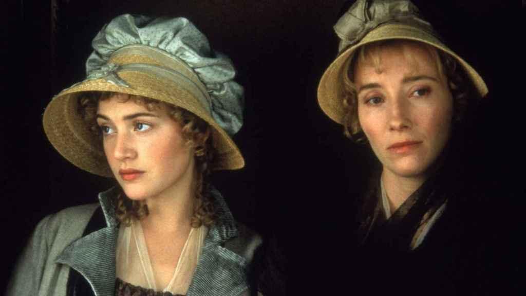 Kate Winslet y Emma Thompson en la versión de Sentido y sensibilidad de Ang Lee.