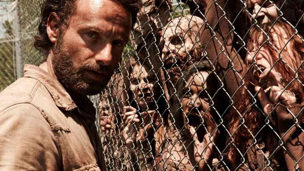 Fotograma de 'The Walking Dead'.