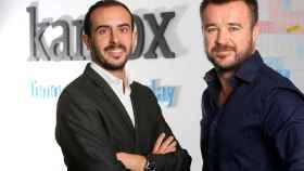 Los dos cofundadores de Kantox.