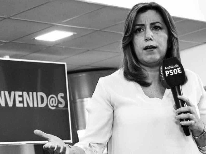 Susana Díaz durante un acto del PSOE andaluz.