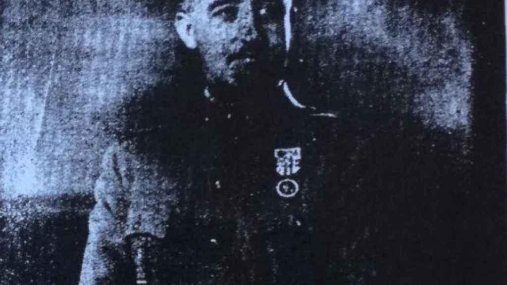Fotografía a Franco en la entrevista exclusiva realizada por ABC hace 80 años.
