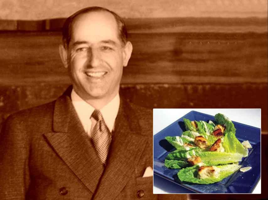 Cesare Cardini es uno de los inventores de la ensalada César, que se remonta a Tijuana, en 1924.