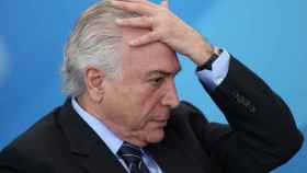 Michel Temer, actual presidente de Brasil.