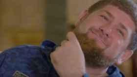 Ramzan Kadyrov, presidente checheno, en un momento de la entrevista a HBO.