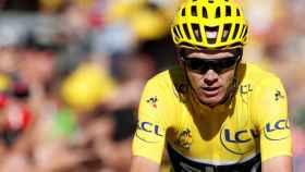 Chris Froome durante la pasada edición del Tour de Francia.