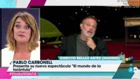 """Pablo Carbonell vacila a Toñi Moreno: """"En verano también veo Telecinco"""""""